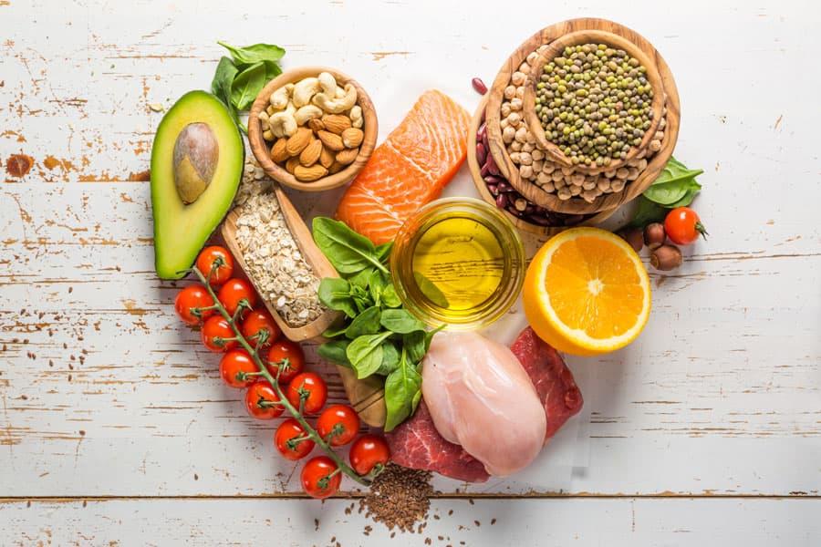 alimentos saudaveis